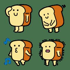 ふんわり食パンの絵文字