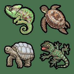 [ 爬虫類 ] みんなの絵文字 基本セット