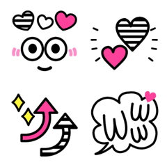 カラフルxモノクロ♪可愛い♥POP mix