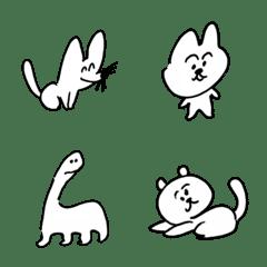 ゆるい生き物たち 絵文字 11