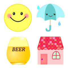 emoticons and cute miscellaneous goods