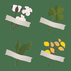 美しいテープの花