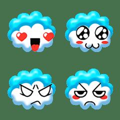 Cloud emoji