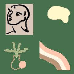 simple tone emoji.