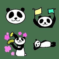 能天気なパンダによる能天気な絵文字