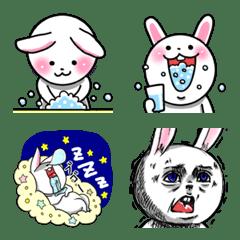 うさまるこちゃん♡(毎日使える絵文字)
