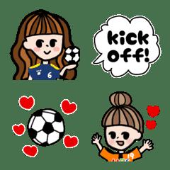 サッカーだいすきサキちゃん