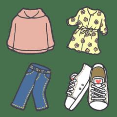 ファッション絵文字 春コレ