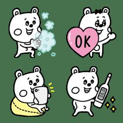 ラクガキ調☆くまカップル3【ミニサイズ】