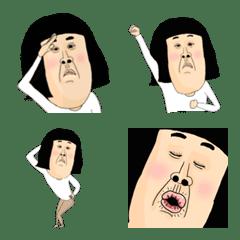 カワユスガール絵文字
