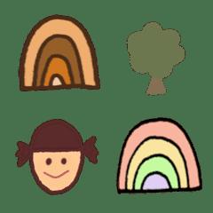 シンプル ᕱ 使いやすい ᕱ 虹