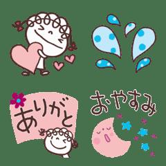 大人ガーリー♡くるリボン絵文字