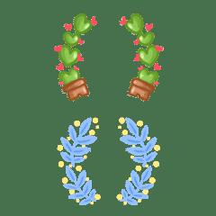 Cutie emoji : minimal bracket pastel