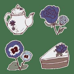 Cafe×青い花