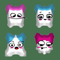 Gang head color emoji