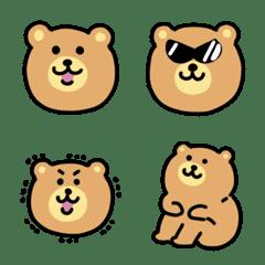 のっそりクマの絵文字
