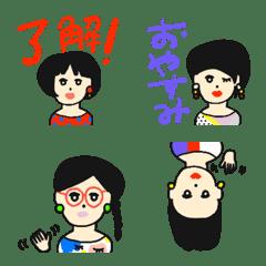 レトロ女子の丁寧語♡絵文字♡POCAママ