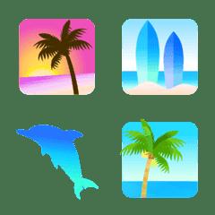 大人のビーチリゾート2 絵文字