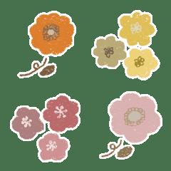 くすみオシャレお花♡