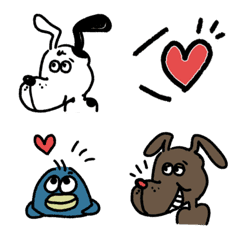 MOOSE & ROVER BASIC 絵文字