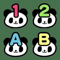 可愛いパンダの楽しい絵文字2