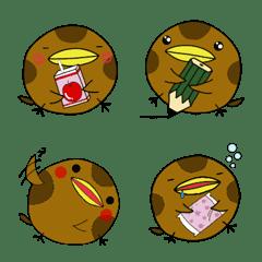 """まぁるい鳥""""まるちゅん"""""""