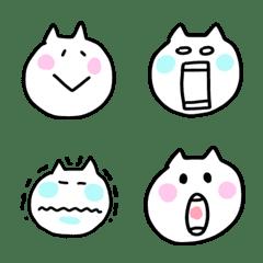 白ネコの絵文字