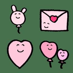 ◇かわいいピンクのなかまたち◇