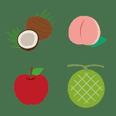 果物のシンプルなフルーツ絵文字