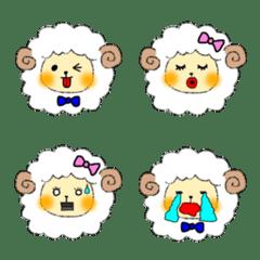 まんまるひつじ絵文字編