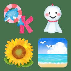 夏に使える♥かわいい絵文字たち