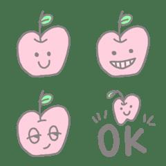 りんごちゃんの毎日絵文字