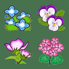 花の絵文字(春夏編)
