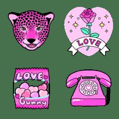 Lover of PINK Emoji 3 ピンクな絵文字3