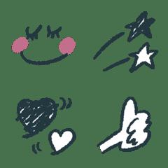 大人★おしゃれネイビー×ピンク