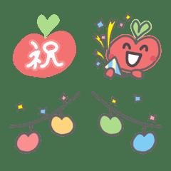 めりんごちゃんの絵文字 vol.02(お祝い編)