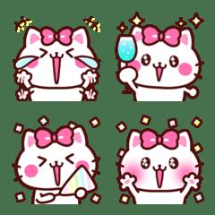 ゆるかわラブリー♡ねこちゃん絵文字♡ 3