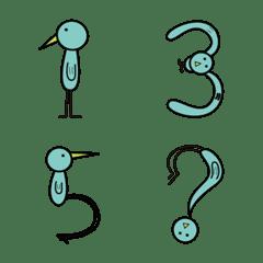 【トリモジ】数字と記号