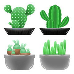cactus around the world emoji