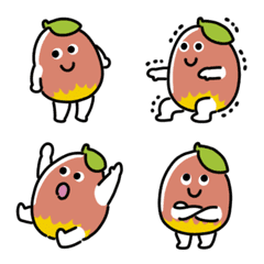 かんじゅくマンゴーの絵文字
