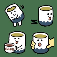 ぬくぬくお茶の絵文字