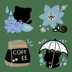かわいい文末♦北欧風&黒猫絵文字3