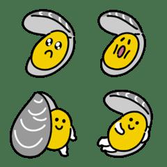 むるむるムール貝の絵文字
