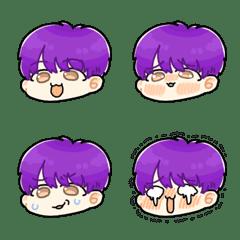 紫髪の男の子