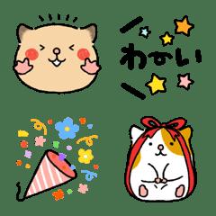 ゆるハム3【お祝い絵文字】
