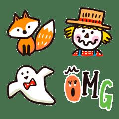 絵本のような♡秋の日常絵文字(再販)