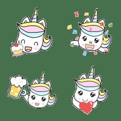 Unicorn Jija Celebration Emoji