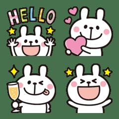 大人かわいい♡うさぎの絵文字10