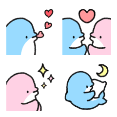 イルカの絵文字(使用率高め)
