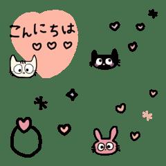 絵文字のアクセサリー✨名前はまだない猫